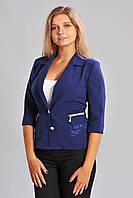 Модный женский пиджак без подкладки, фото 1