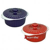 Кастрюля керамическая для запекания 1.5л Kamille 6100