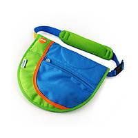 Детская сумка-седло на ремне Trunki сине-зелёная 0160