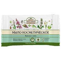 Мыло косметическое (Базилик и Мята) - Зеленая аптека