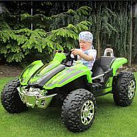 Детский электромобиль БАГГИ ZP 6058 2 места ЗЕЛЕНЫЙ -купить оптом детские электромобили 6058