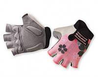 Перчатки женские EXUSTAR CG120W розовые. L