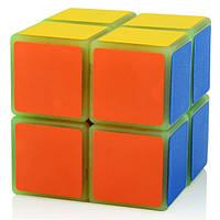 Акция! Кубик Рубика YJ 2x2 luminous Сверх яркий Люминесцентный