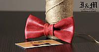 Кожаная галстук-бабочка I&M (010817)