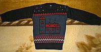 Теплый свитер для мальчика на 3, 4 года