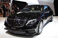 Комплект обвеса AMG на Mercedes S-Сlass W222 S65 (2014 года)