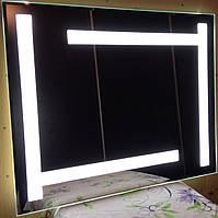 Зеркало с ЛЕД подсветкой 800 х 650 влагостойкое