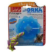 PETSTAGES (ПЕТСТЕЙДЖЕС) игрушка для собак Мини Орка звездочка с канатом
