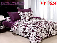 Постельное белье, евро комплект, ранфорс, Вилюта (VILUTA) VР 8624