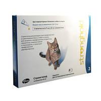 Стронгхолд (Stronghold) капли для котов, 2,6 - 7,5 кг.