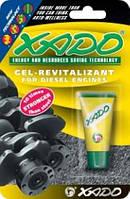 Гель-ревитализант для дизельных двигателей Xado 9ml