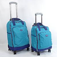 Вместительная дорожная сумка на колесах (большая)