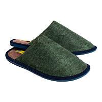 Комнатные тапочки RELAX мужские Зеленые OLDCOM