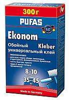 Клей для обоев (обойный клей) Pufas Эконом универсальный 500 г