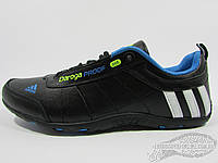 Кроссовки мужские Adidas Daroga, чёрные с синим