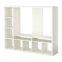 "IKEA ""ЛАППЛАНД"" Шкаф для ТВ, белый"