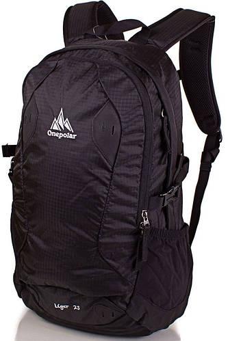 Функциональный стильный рюкзак 25 л. Onepolar (Ванполар) W1755-black черный