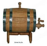 Бочка дубовая для вина, 3л.