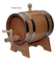 Бочка дубовая для вина, 5 л.