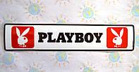 Наклейка на авто Плейбой