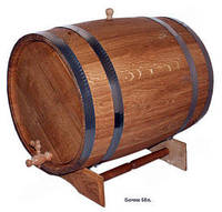 Бочка дубовая для вина, 50л.