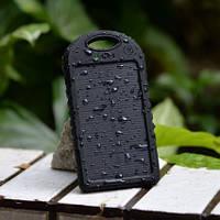 Cолнечный портативный аккумулятор Power Bank для мобильного телефона