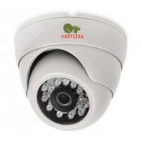 Купольная AHD Видеокамера в котедж CDM-223S-IR HD 3.0 Metal