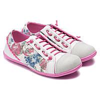 Спортивные туфли- кеды для девочек, размер 32-37