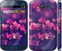 "Чехол на Samsung Galaxy Grand Duos I9082 Пурпурные цветы ""2719c-66"""