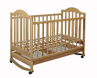 """Кроватка детская для новорожденных с ящиком """"Наполеон"""""""