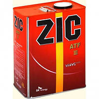 Трансмиссионное масло ZIC ATF III 4л