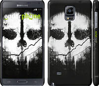 "Чехол на Samsung Galaxy Note 4 N910H Call of Duty череп ""150c-64"""
