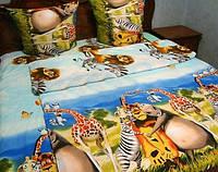 Детское постельное белье с эфектом 3Д