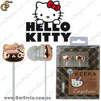"Наушники Hello Kitty - ""Kitty Earphone"" - Оригинальная упаковка!"