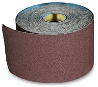 Бумага наждачная на тканевой основе, водост., 200 мм № 120, 50 м, код  718-604