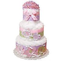 Торт из памперсов Нежность