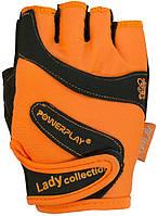 Перчатки для силовых тренировок PowerPlay 1729-D женские (М)