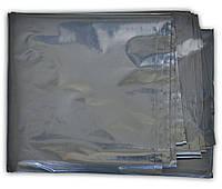 Пленка строительная черная 130мкм, 5х20м, код 710-957