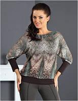 Блузка, кофточка женская, футболка с длинным рукавом Top Bis 2015