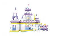 Конструктор Ausini Страна чудес: Замок принцессы, 614 деталей 24806
