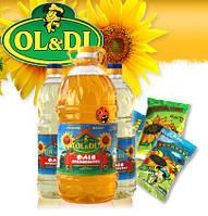 """Подсолничное масло оптом, фасованое ТМ""""OL&DI"""""""