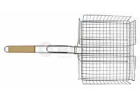 Решетка для гриля и барбекю глубокая 31*25см