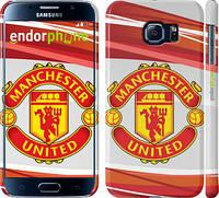 "Чехол на Samsung Galaxy S6 G920 Манчестер Юнайтед 1 ""329c-80"""