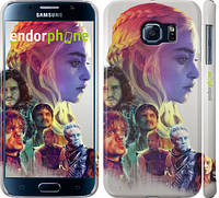 "Чехол на Samsung Galaxy S6 G920 Game of thrones art ""2841c-80"""