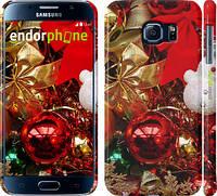 """Чехол на Samsung Galaxy S6 G920 Новогодние игрушки """"489c-80"""""""