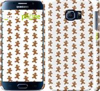 """Чехол на Samsung Galaxy S6 G920 Имбирный пряник """"1490c-80"""""""