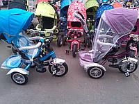 Велосипед трехколесный копия MODI, надувное колесо, трансформер, с поворотным сидением