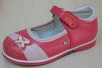 Детские туфли на девочку, детские малиновые нарядные туфельки, скидки тм Tom.m р.22