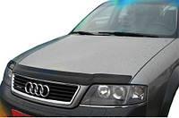 Дефлектор капота  Audi A4  2001-2005, Мухобойка Audi A4