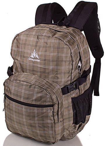 Практичный рюкзак на каждый день с отделением для ноутбука 25 л. Onepolar W1573-khaki хаки